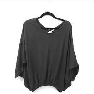 Postmark | Anthropologie Flowy Gray Top Size Small